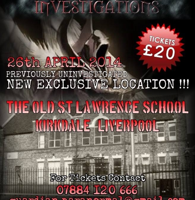Paranormal Investigation Night